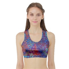 Gateway To The Light 5 Sports Bra With Border