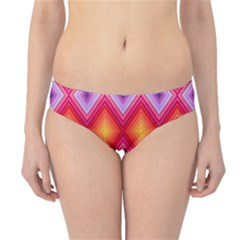 Texture Surface Orange Pink Hipster Bikini Bottoms