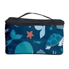 Cool Sea Life Pattern Cosmetic Storage Case