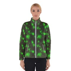 Neon Green Bubble Hearts Winterwear
