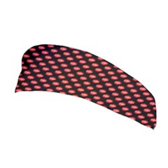 Sexy Red And Black Polka Dot Stretchable Headband