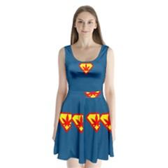 Super Dealer Split Back Mini Dress