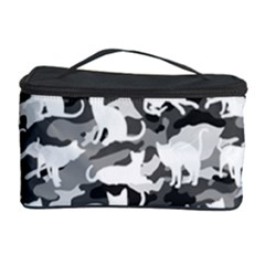 Black And White Catmouflage Camouflage Cosmetic Storage Case