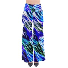 Abstract Background Blue White Pants