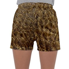 Water Mirror Background Pattern Sleepwear Shorts