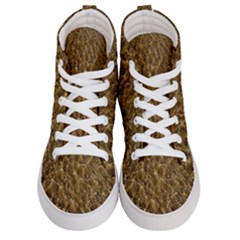 Water Mirror Background Pattern Men s Hi Top Skate Sneakers