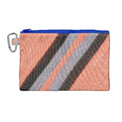 Fabric Textile Texture Surface Canvas Cosmetic Bag (large)
