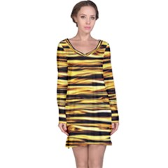 Texture Wood Wood Texture Wooden Long Sleeve Nightdress
