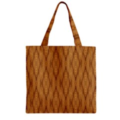 Wood Background Backdrop Plank Zipper Grocery Tote Bag