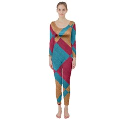 Fabric Textile Cloth Material Long Sleeve Catsuit