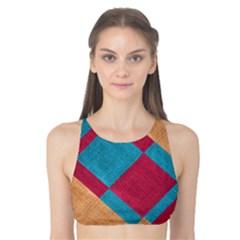 Fabric Textile Cloth Material Tank Bikini Top