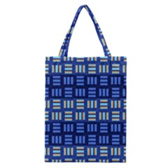 Textiles Texture Structure Grid Classic Tote Bag