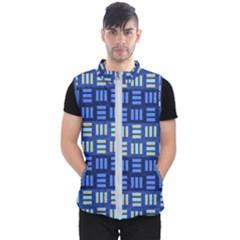 Textiles Texture Structure Grid Men s Puffer Vest