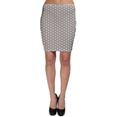 Background Website Pattern Soft Bodycon Skirt