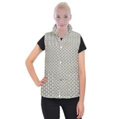 Background Website Pattern Soft Women s Button Up Puffer Vest