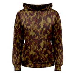 Camouflage Tarn Forest Texture Women s Pullover Hoodie