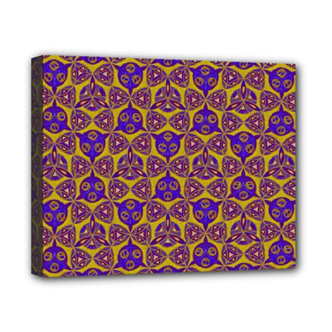 Sacred Geometry Hand Drawing 2 Canvas 10  X 8
