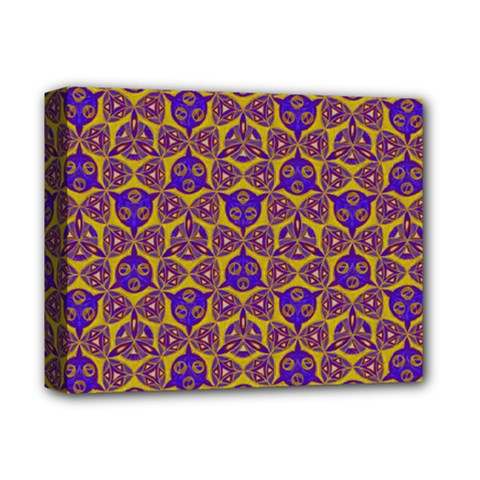 Sacred Geometry Hand Drawing 2 Deluxe Canvas 14  X 11