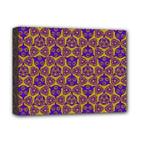 Sacred Geometry Hand Drawing 2 Deluxe Canvas 16  X 12