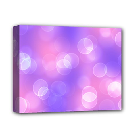 Soft Lights Bokeh 1 Deluxe Canvas 14  X 11