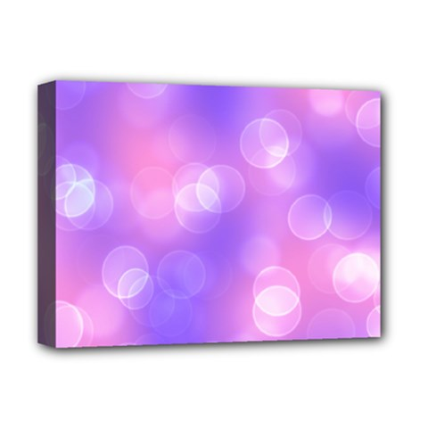 Soft Lights Bokeh 1 Deluxe Canvas 16  X 12