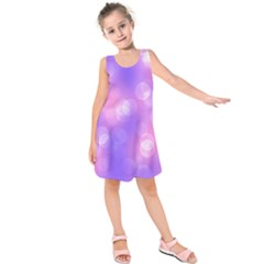 Soft Lights Bokeh 1 Kids  Sleeveless Dress