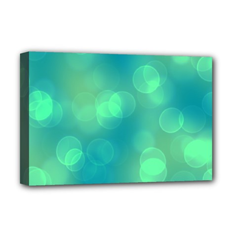 Soft Lights Bokeh 1b Deluxe Canvas 18  X 12