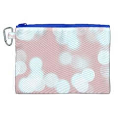 Soft Lights Bokeh 5 Canvas Cosmetic Bag (xl)