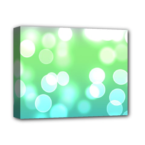 Soft Lights Bokeh 2 Deluxe Canvas 14  X 11