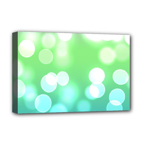 Soft Lights Bokeh 2 Deluxe Canvas 18  X 12