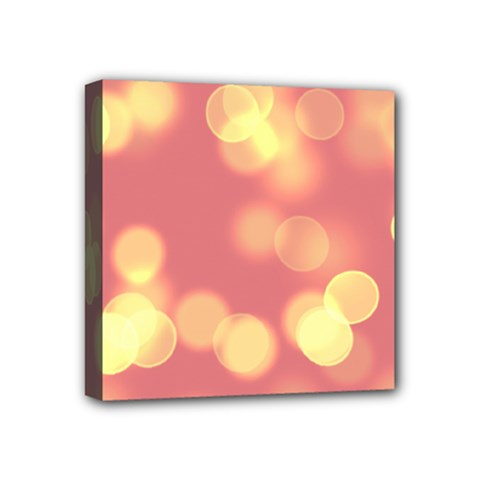 Soft Lights Bokeh 4b Mini Canvas 4  X 4