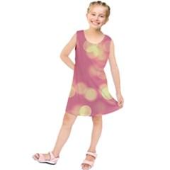 Soft Lights Bokeh 4b Kids  Tunic Dress