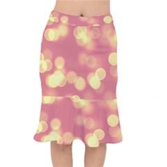 Soft Lights Bokeh 4b Mermaid Skirt