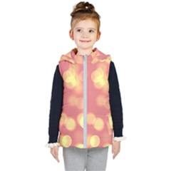 Soft Lights Bokeh 4b Kid s Puffer Vest