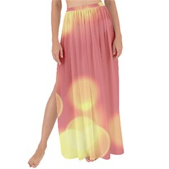 Soft Lights Bokeh 4b Maxi Chiffon Tie Up Sarong