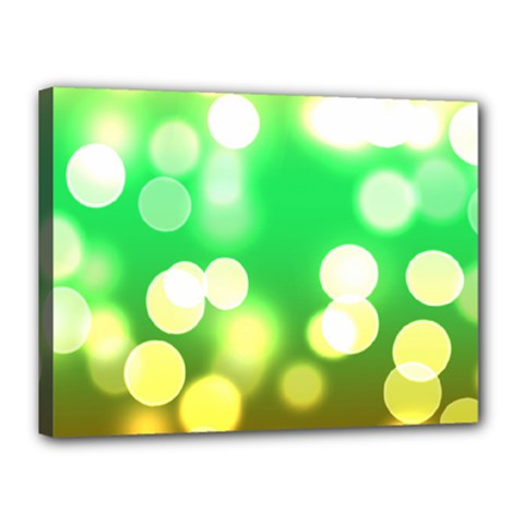 Soft Lights Bokeh 3 Canvas 16  X 12