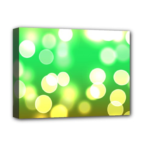 Soft Lights Bokeh 3 Deluxe Canvas 16  X 12