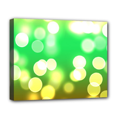 Soft Lights Bokeh 3 Deluxe Canvas 20  X 16