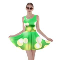 Soft Lights Bokeh 3 Skater Dress