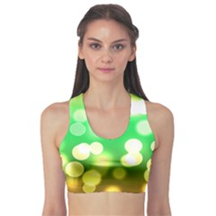 Soft Lights Bokeh 3 Sports Bra