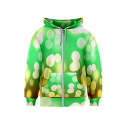 Soft Lights Bokeh 3 Kids  Zipper Hoodie