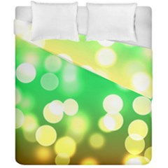 Soft Lights Bokeh 3 Duvet Cover Double Side (california King Size)