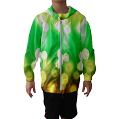 Soft Lights Bokeh 3 Hooded Wind Breaker (kids)