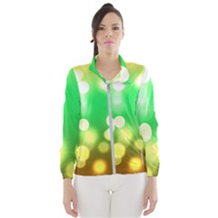 Soft Lights Bokeh 3 Wind Breaker (women)