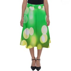 Soft Lights Bokeh 3 Perfect Length Midi Skirt