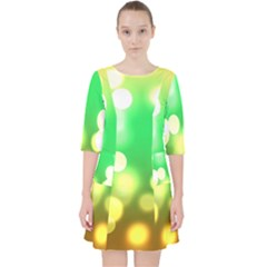 Soft Lights Bokeh 3 Pocket Dress
