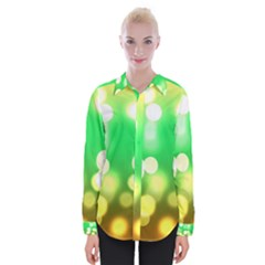 Soft Lights Bokeh 3 Womens Long Sleeve Shirt