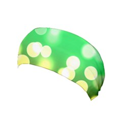 Soft Lights Bokeh 3 Yoga Headband