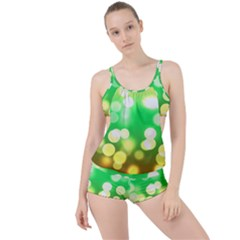Soft Lights Bokeh 3 Boyleg Tankini Set