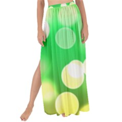 Soft Lights Bokeh 3 Maxi Chiffon Tie Up Sarong